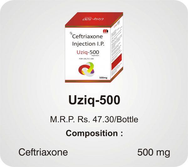 Uziq-500 Inj
