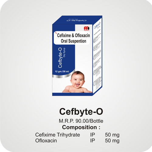 Cefbyte-O Dry Syrup