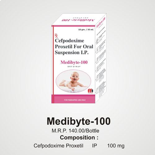 Medibyte-100 Dry Syrup