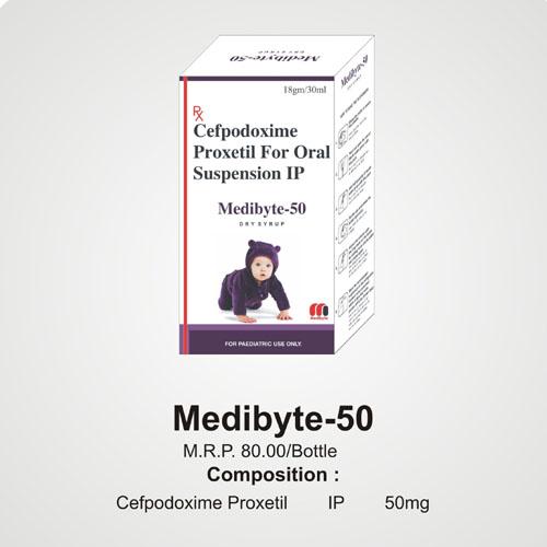 Medibyte-50 Dry Syrup