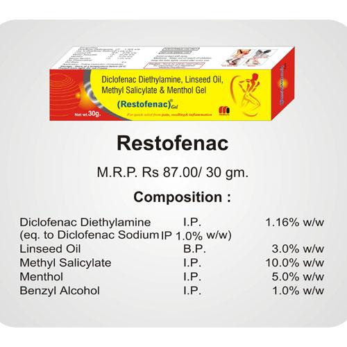 Restofenac Gel 30gm