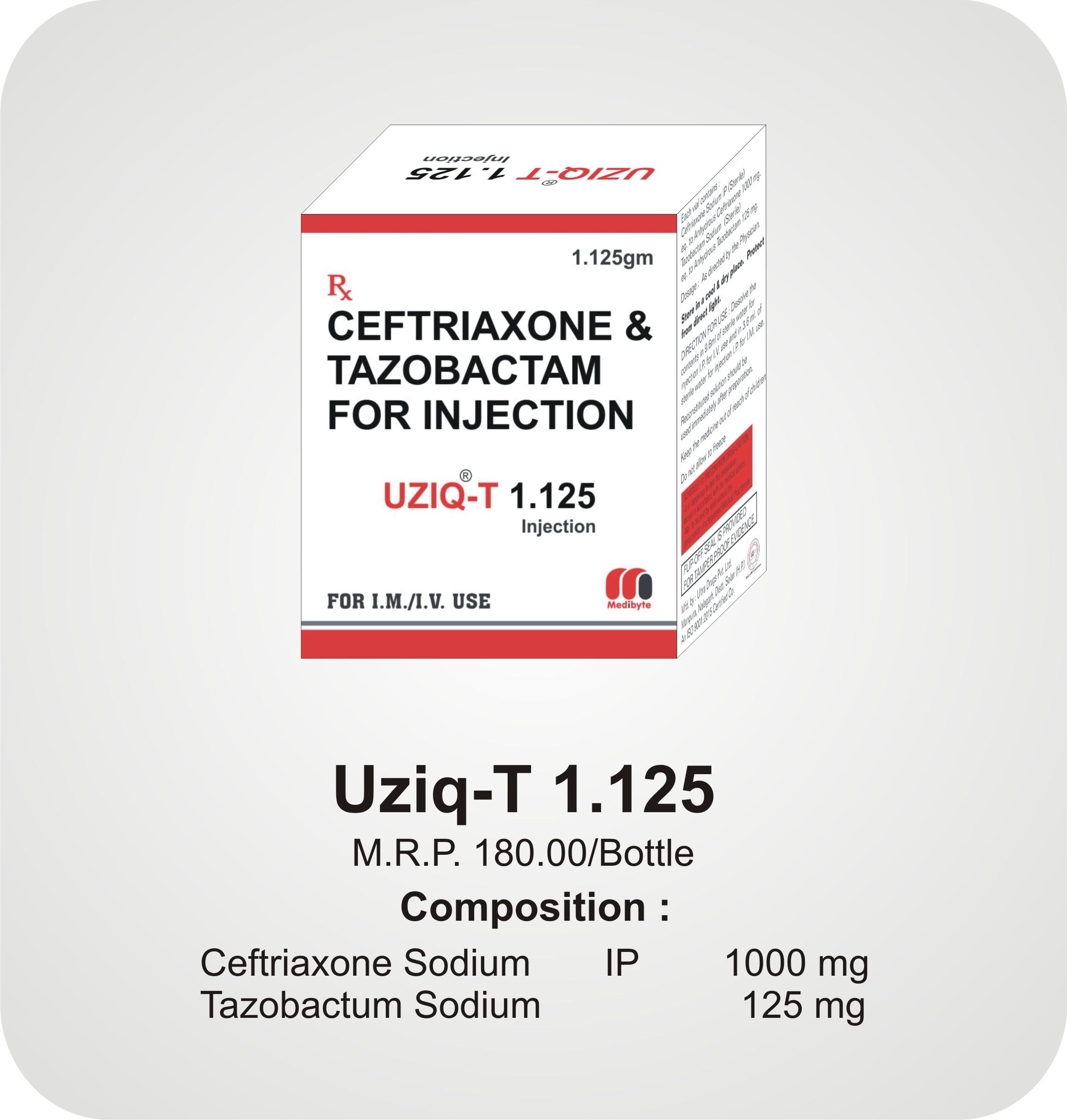 Uziq-T 1.125 Inj