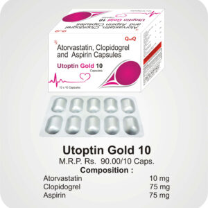 Utoptin Gold 10 Caps
