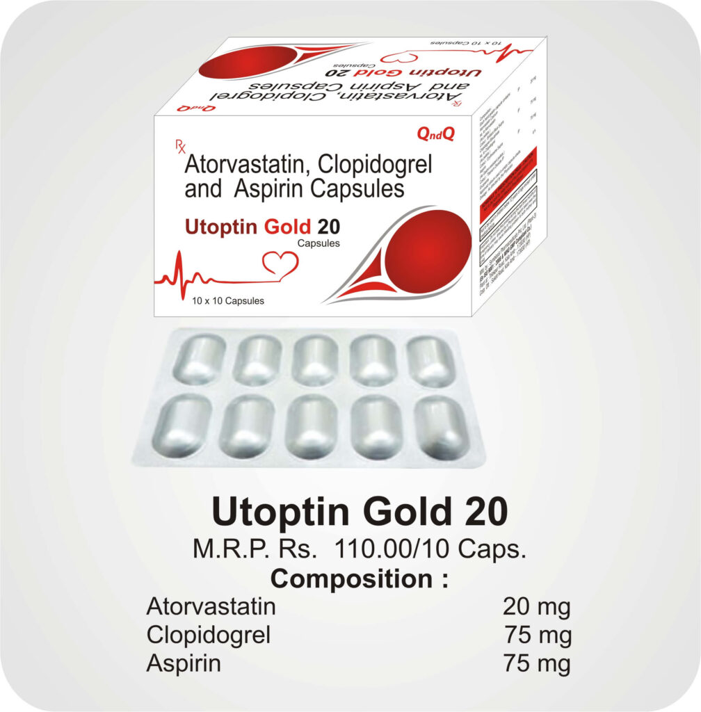 Utoptin Gold 20 Caps