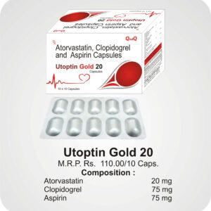 Utoptin Gold 20 Caps